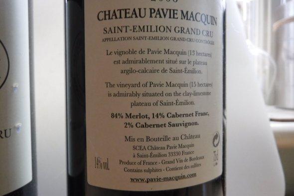Chateau Pavie Macquin Premier Grand Cru Classe B, Saint-Emilion Grand Cru