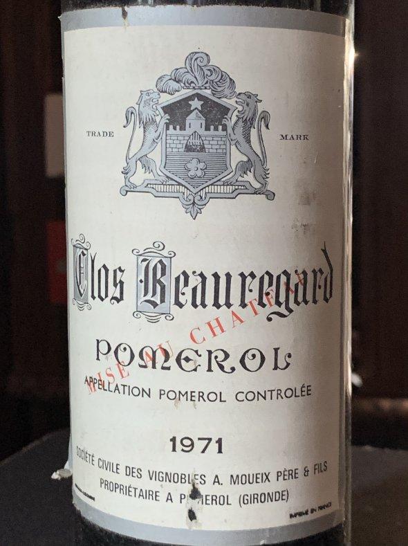 Clos Beauregard, Pomerol