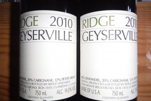 Ridge, Geyserville, Alexander Valley