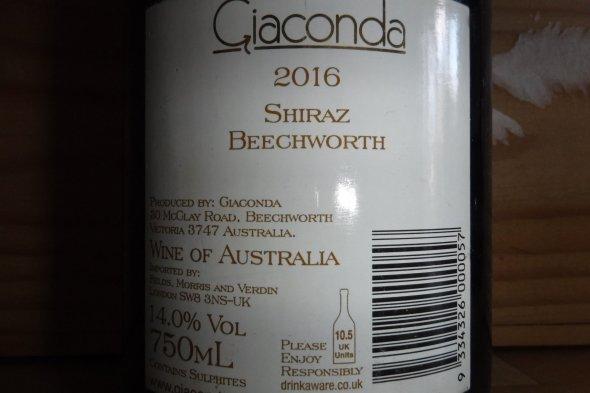 Giaconda, Beechworth, Shiraz, Victoria, Australia