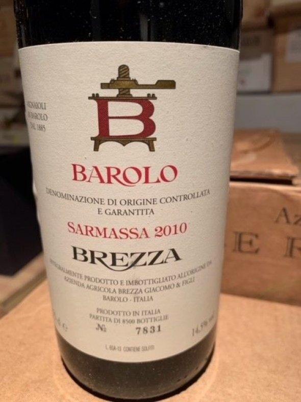 Brezza, Barolo, Sarmassa (Decanter top rated 2010 Barolo, 97 Points WE)