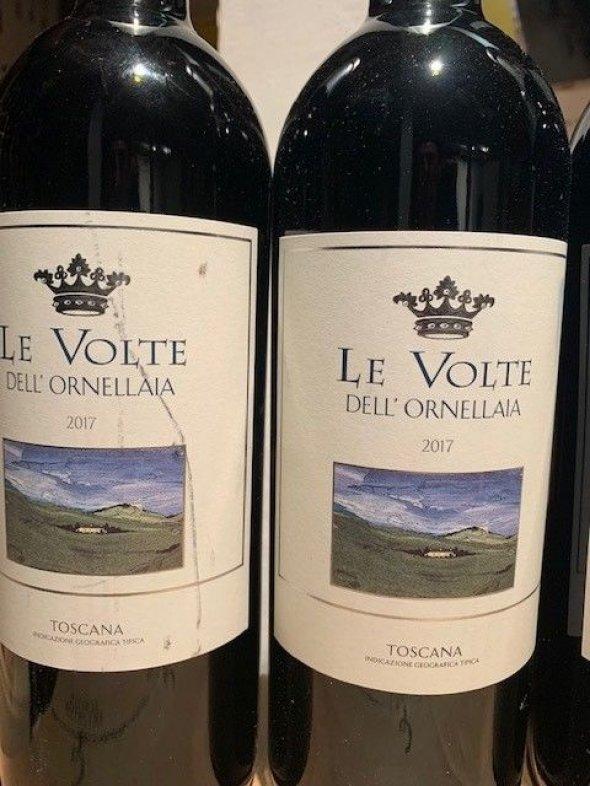 Le Volte dell'Ornellaia, Tenuta dell'Ornellaia Toscana  2 bottles each of 2017 and 2018