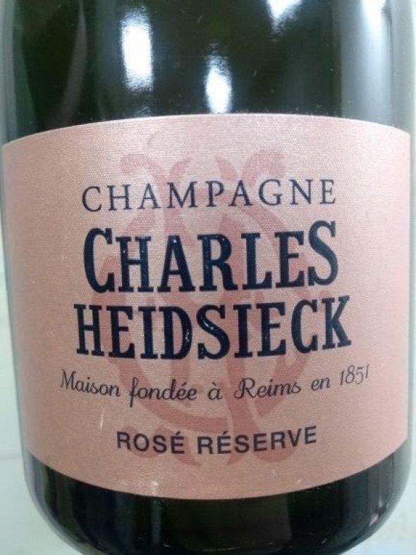 Charles Heidsieck, Rose Reserve Brut