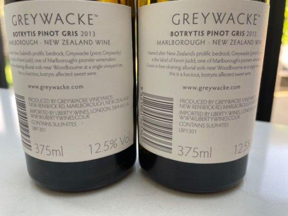Greywacke, Pinot Gris, Marlborough