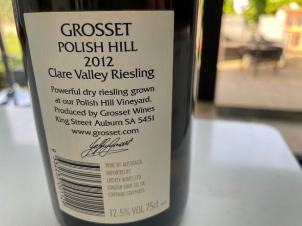 Grosset, Polish Hill Riesling, Clare Valley
