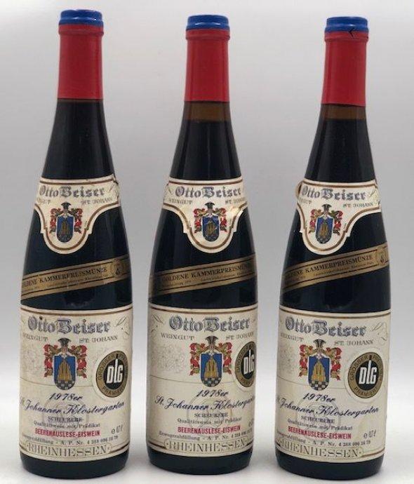 St Johanner Klostergarten  Beerenauslese Einswein