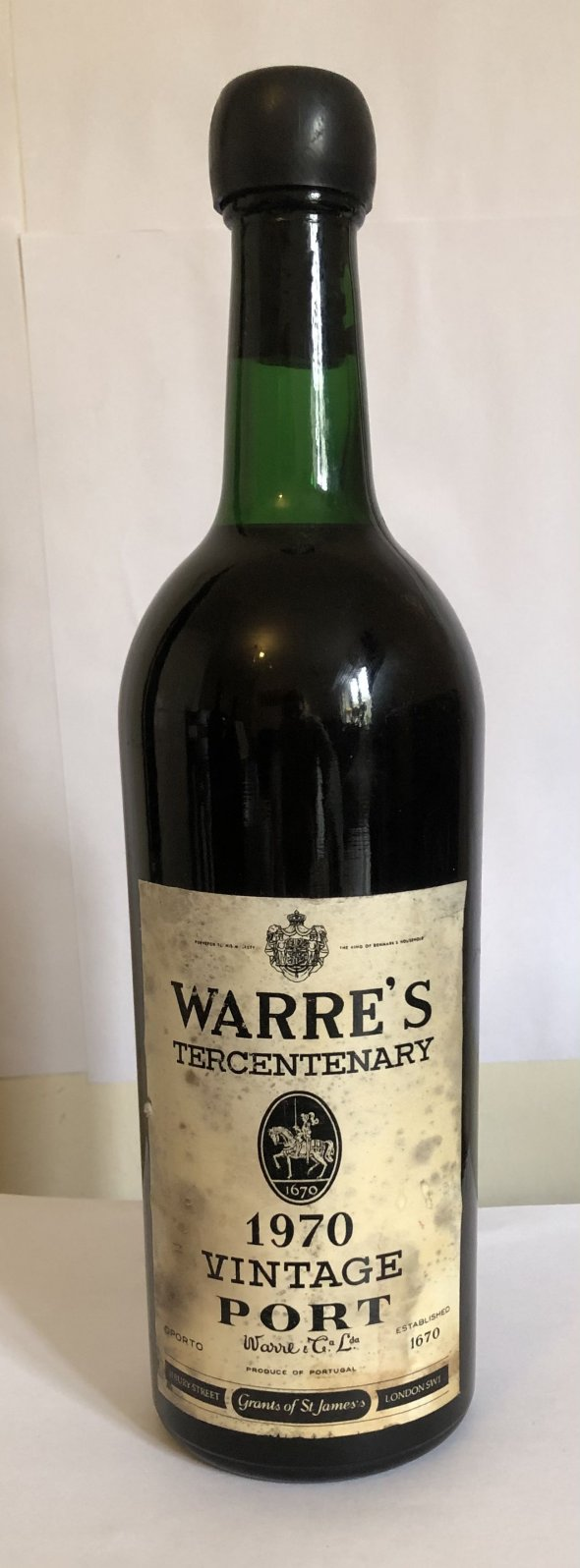 Warre's tercentenary 1970