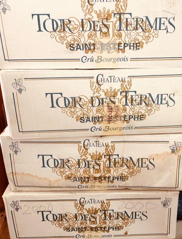 Chateau Tour des Termes, Saint-Estephe 2000