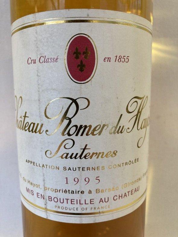 Chateau Romer du Hayot 2eme Cru Classe, Sauternes