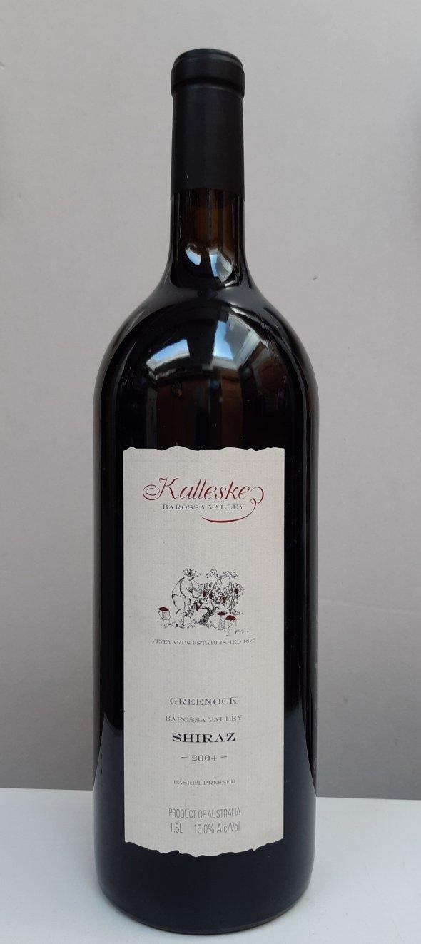 Kalleske, Greenock Shiraz 2004, Magnum, RP 94pts. (Signed by Troy Kalleske)