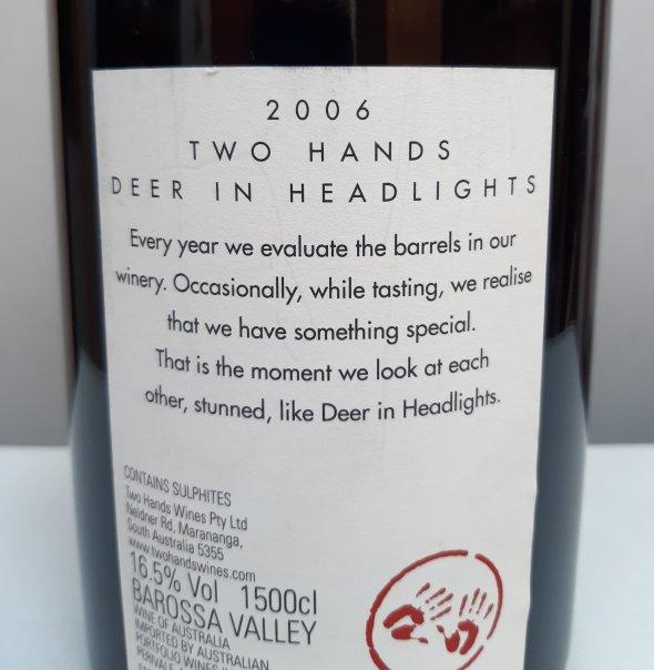 Two Hands, Deer In Headlights 2006, Magnum.