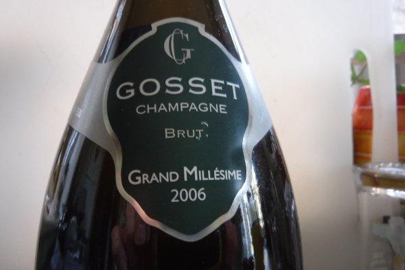 Gosset, Grand Millesime, Champagne, France