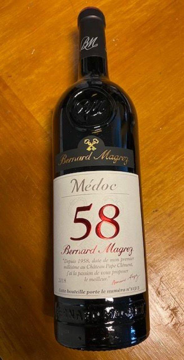 Bernard Magrez 58 Médoc