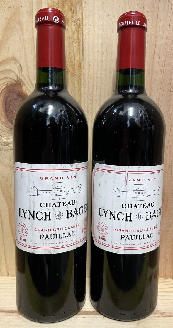 Lot 12 bt Bordeaux Pavie Macquin, Lynch Bages, Gazin, Smith Haut Lafitte, Clinet