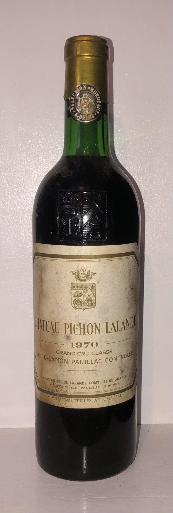 Chateau Pichon Lalande  grand Cru Classe 1970