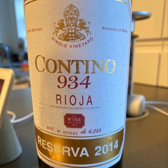 Contino 934 Reserva, Rioja