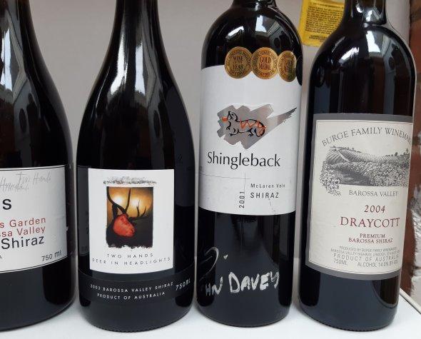 Collection of 6 great upmarket Aussie Shiraz