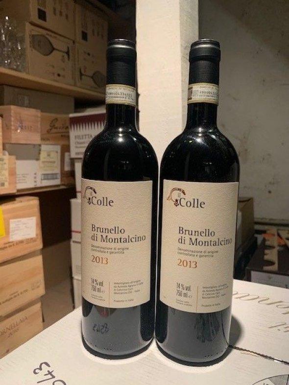 Il Colle Brunello Di Montalcino 96 points WE