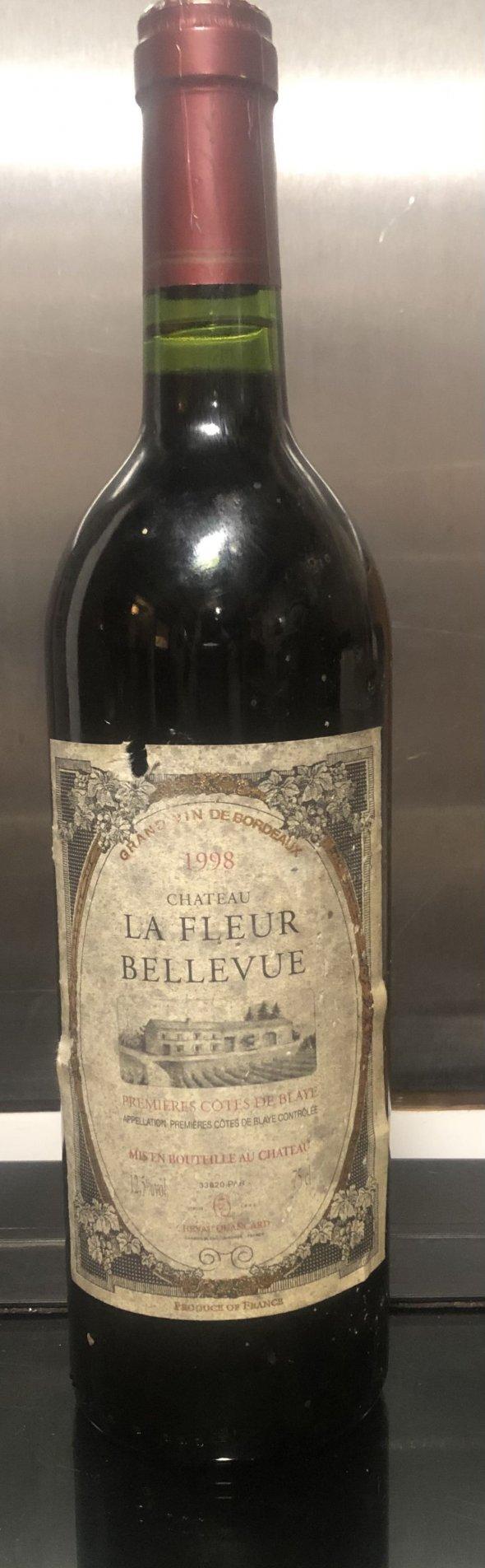 Chateau la fleur bellevue 1998 grand vin de Bordeaux