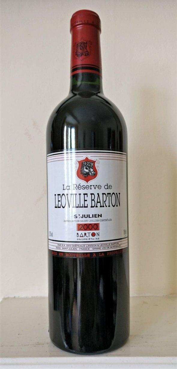 La Reserve de Leoville Barton, Saint-Julien