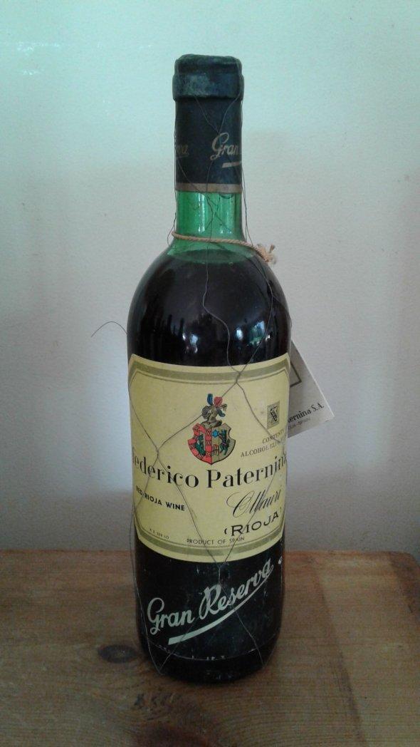 Frederico Paternina, Gran Reserva, Rioja