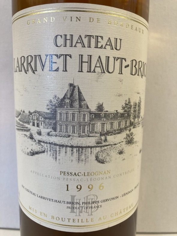 Chateau Larrivet Haut-Brion, Blanc, Pessac-Leognan