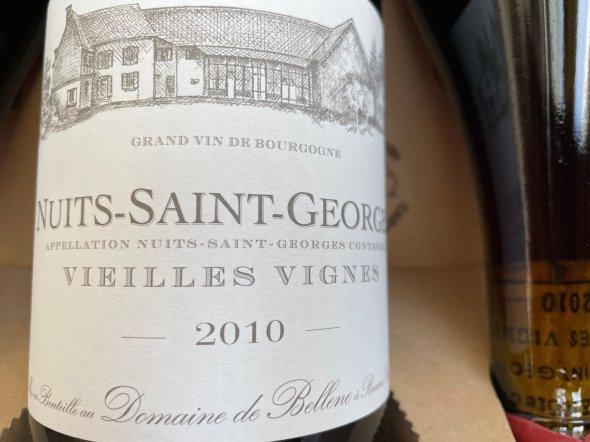 Nuits-St Georges, Vieilles Vignes, Domaine de Bellene 2010