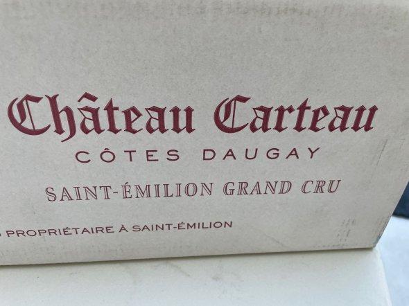 Chateau Carteau Cotes Daugay, Saint-Emilion Grand Cru
