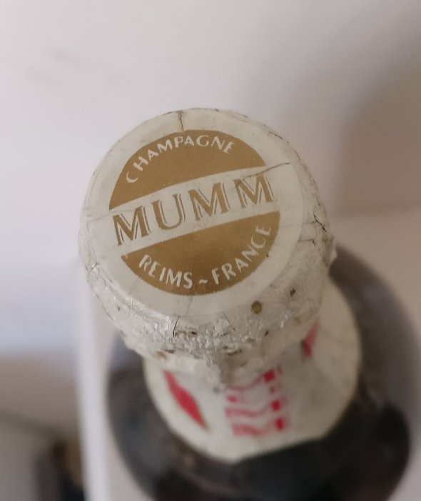 Magnum of Mumm Champagne