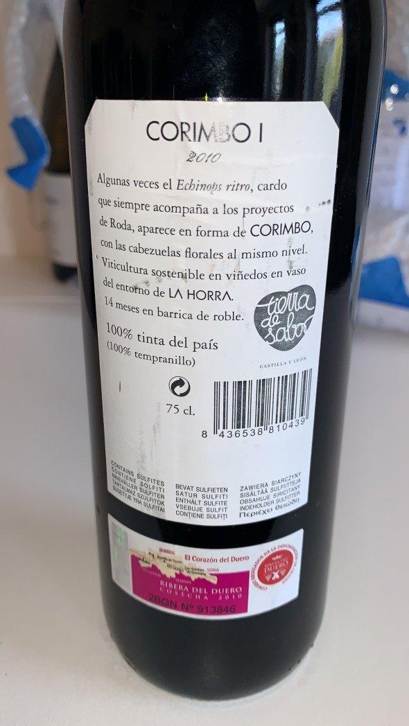 Horra, Ribera del Duero, Corimbo I