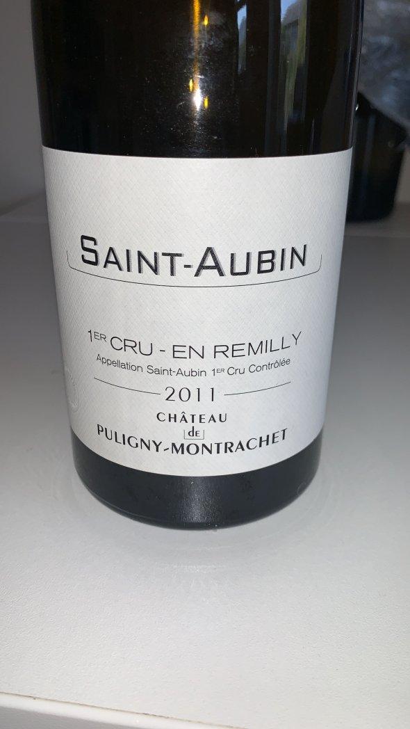 Chateau de Puligny-Montrachet, Saint-Aubin Premier Cru, En Remilly