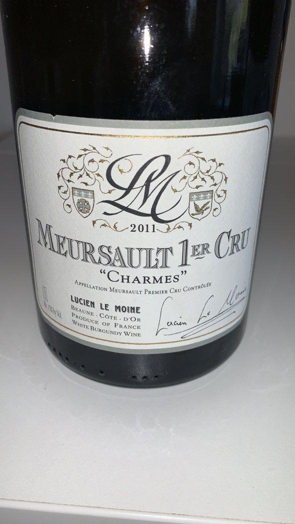 Lucien Le Moine, Meursault Premier Cru, Charmes