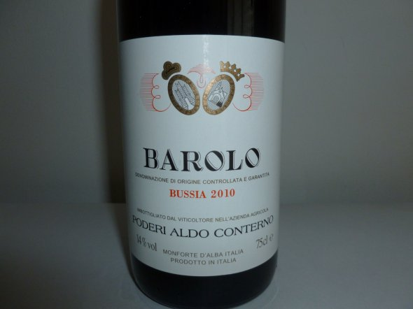 Conterno Bussia Barolo`