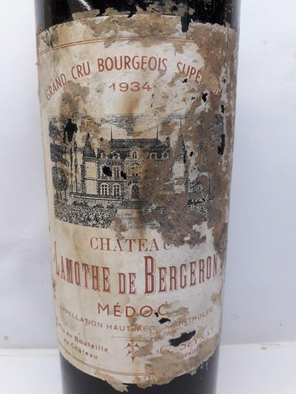 1934 Château Lamothe de Bergeron Médoc