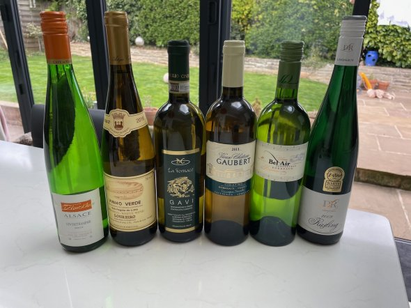 Mixed European White Wines Lot x6