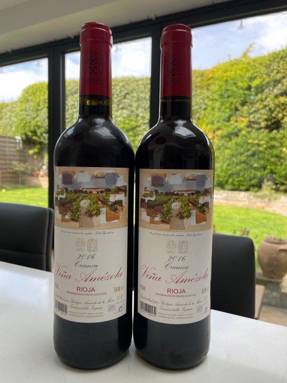 Vina Amezola Crianza Rioja
