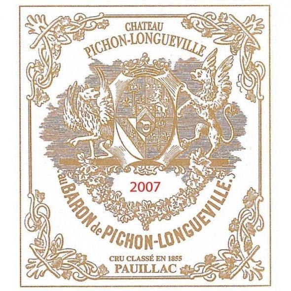 Longueville, Chateau Pichon 2eme Cru Classe, Pauillac