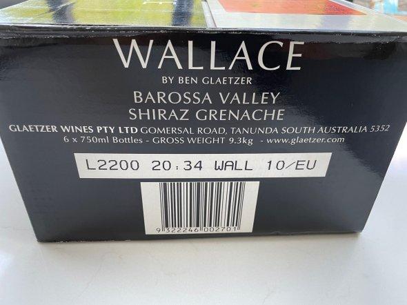 Ben Glaetzer, Wallace, Barossa Valley
