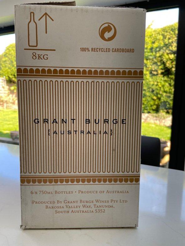 Grant Burge, Shiraz Benchmark, Barossa Valley