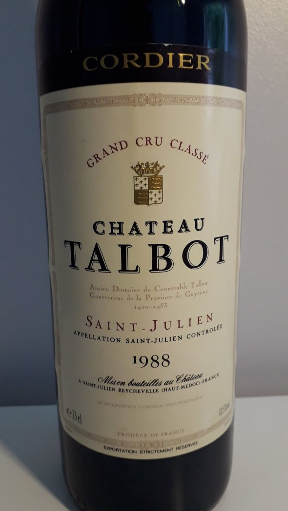 Chateau Talbot 4eme Cru Classe, Saint-Julien