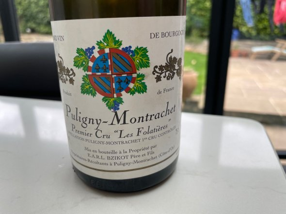 Puligny Montrachet Premier Cru Domaine Bzikot Pere et Fils Les Folatieres
