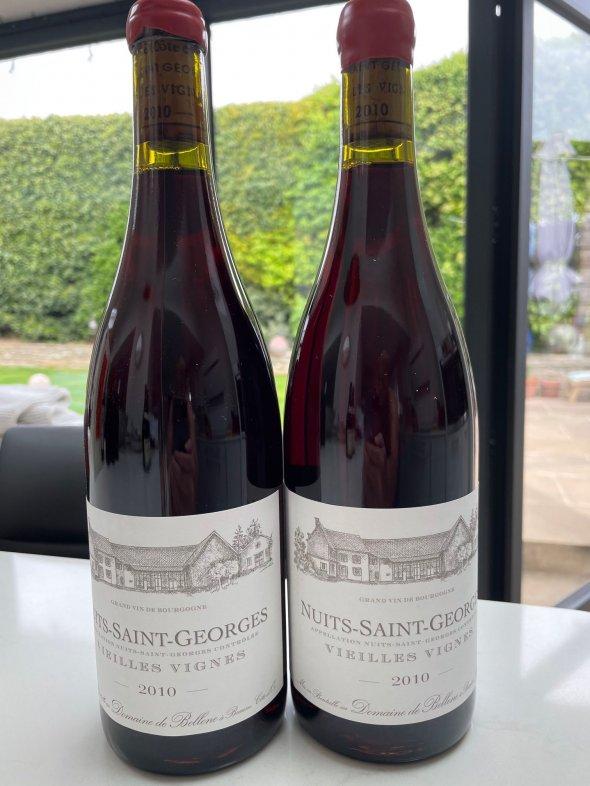 Nuits-St Georges, Vieilles Vignes, Domaine de Bellene
