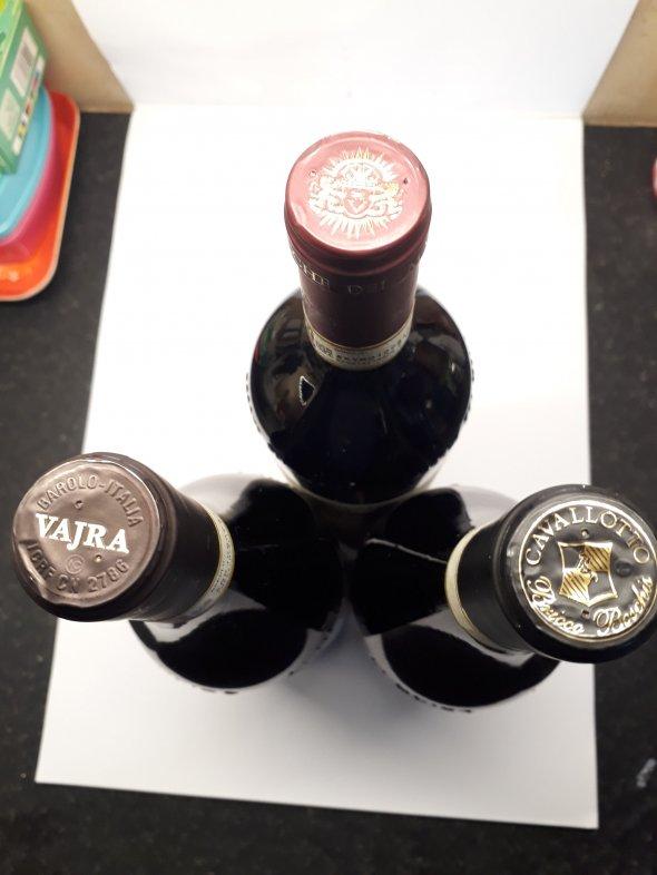 2015 BAROLO top producer x3 bottles