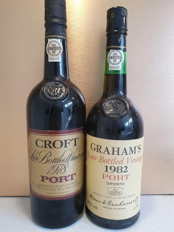 A pair of beautifully mature LBV ports