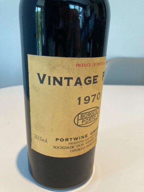 Borges Porto 1970 Vintage Port