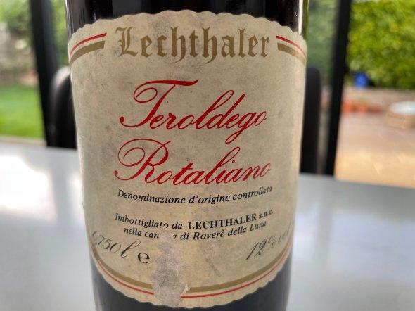 Lechthaler Teroldego Rotaliano