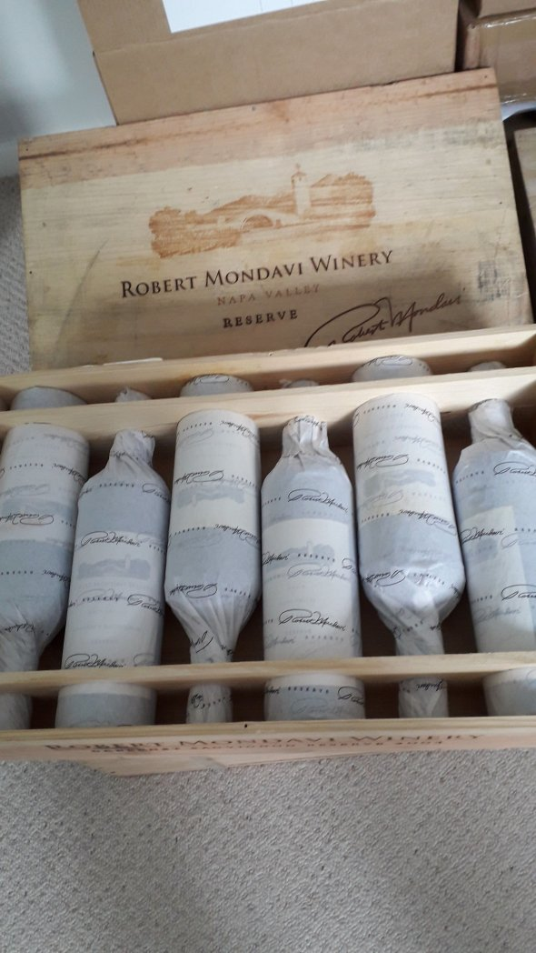 Robert Mondavi Winery, Reserve Cabernet Sauvignon, Napa Valley