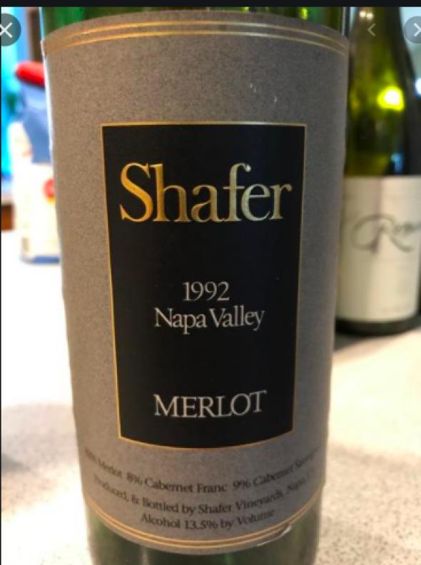 Shafer, Merlot, Napa Valley