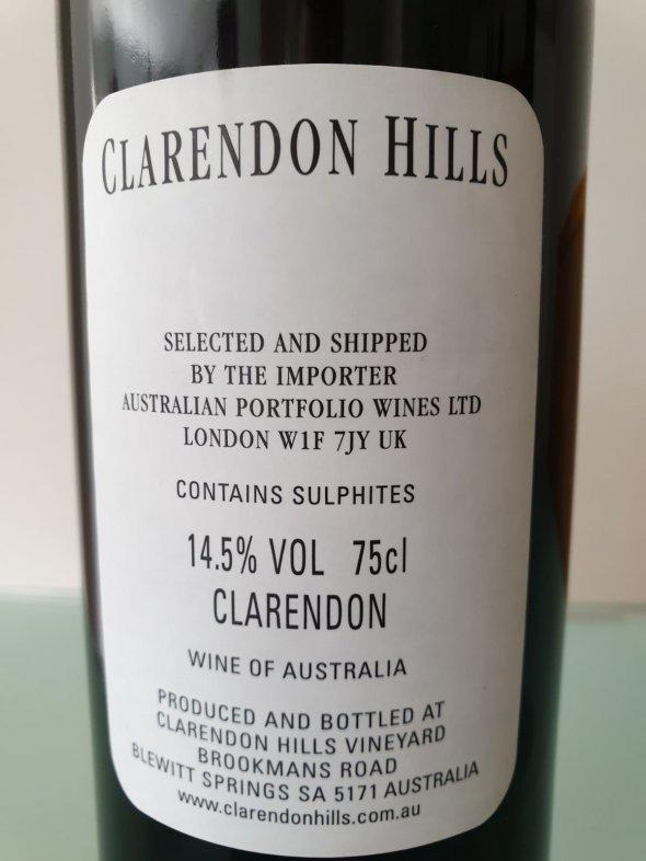 Clarendon Hills, Brookman Merlot, South Australia