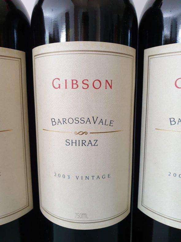 Gibson, Shiraz, Barossa